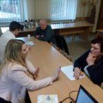 Spotkanie z przedsiębiorcami w Marcinowicach